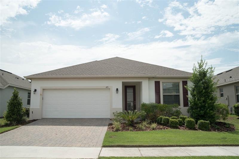 493 Kistler Circle Clermont Florida 34715 Single Family Home For Sale